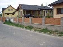 Výroba plotu