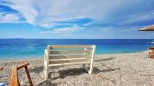 Albánie - pláž