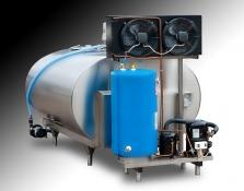 Chladiace tanky na mlieko