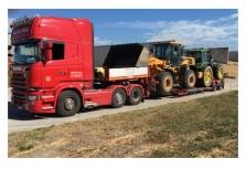 Expresní přeprava zemědělské techniky - František Vlček