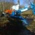 Zemní práce kráčivým bagrem v nepřístupném terénu - Libor Zahálka