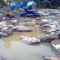 Úprava a čištění koryt potoků - Libor Zahálka