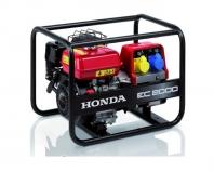 Elektrocentrály s motory Honda