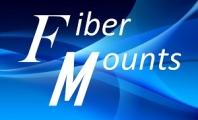 Držáky a stojany na TV, projektory Fiber Mounts