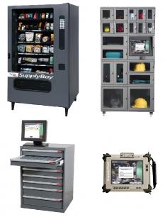 Výdejních automatů na pracovní pomůcky
