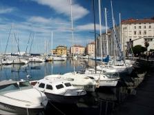 Slovinsko - Piran, kouzlo přístavu plného jachet