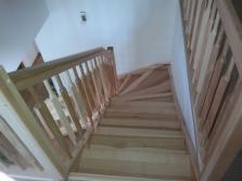 Dřevěné schodiště Nývlt