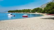 pláž v Promajna