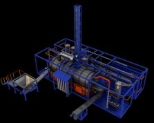 Ekologická likvidace nebezpečných odpadů pyrolýzní technologii