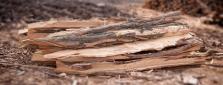 Štípané akátové kůly – slabé