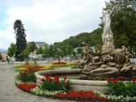 Slavnost růží v Badenu a Schönbrunn