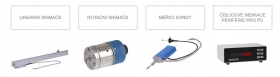 Optoelektronické snímače délky a úhlu