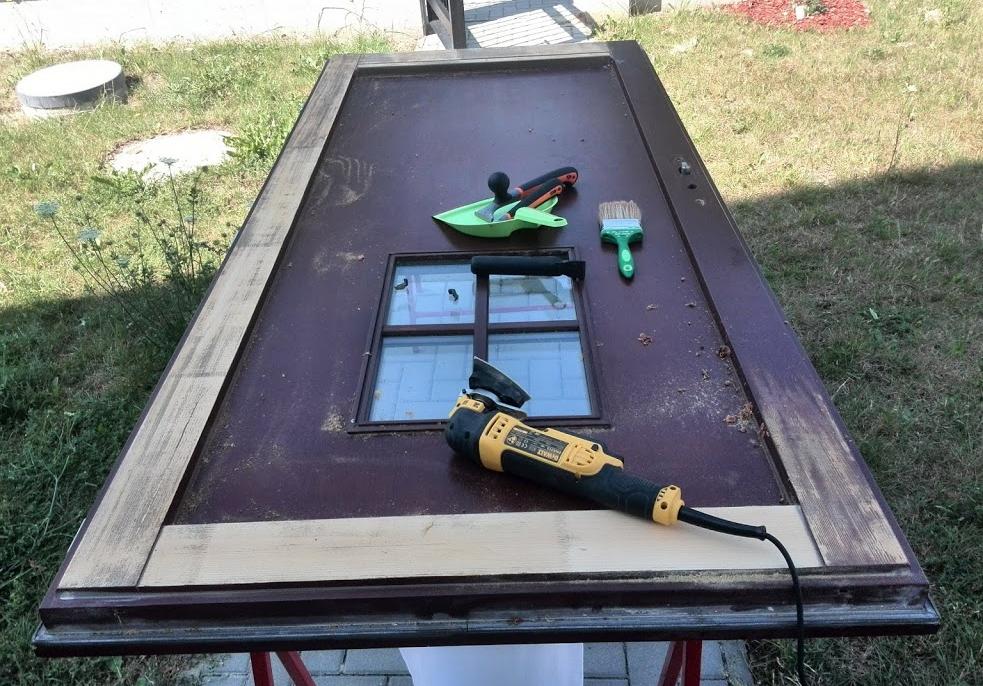 Renovace nátěrů dveří a oken