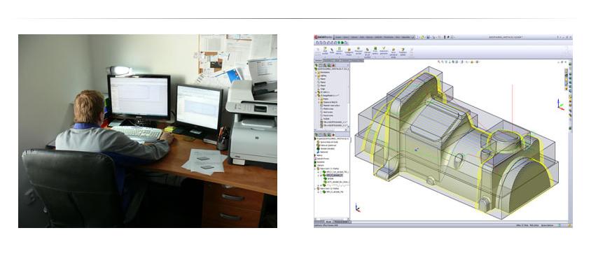 CAD a CAM práce Plastpol, s.r.o.