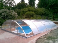 Bazénové zakrytí - komůrkový polykarbonát