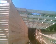 Tesařské práce, výstavba plotů dřevěných, pergoly, altány, domky, dřevěný nábytek, opravy historických objektů