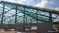 opláštenie objektov,agro sektor,AGROpanel,vetracie štrbiny,PUR/PIR panel,oceľové konštrukcie,