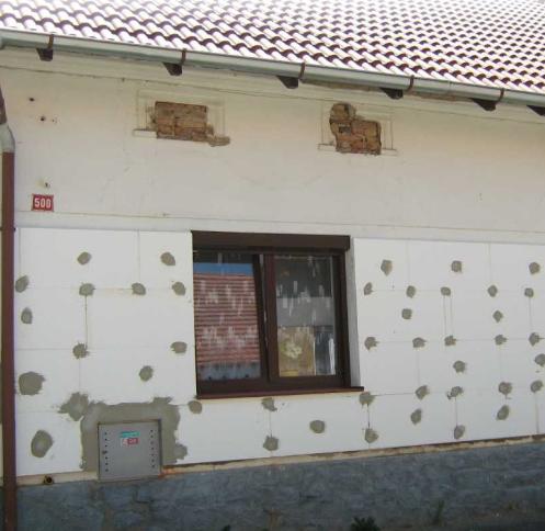 Zateplení domů