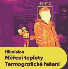 Ruční a stacionární termografické kamery pro měření tělesné teploty