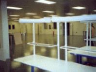 Hmoty pro průmyslové a interiérové podlahy  Lena P100 barvená