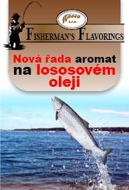 Aromata pro rybářské a lovecké potřeby