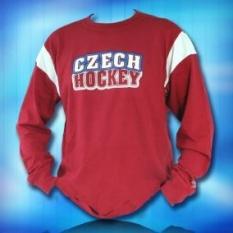 Triko Reebok s dlouhým rukávem Czech hockey