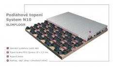 Podlahové topení - Systém N10 SlimFloor