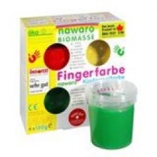Barvy k nanášení prsty