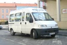 Doprava minibusy Fiat Ducato