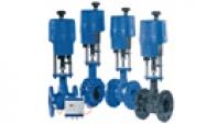 Regulační a měřící ventily BOA-CVE pohony