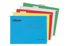Závěsné desky a třídící knihy