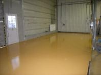 Průmyslové podlahy - stěrky