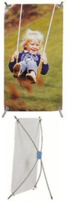 Reklamní stojan - X banner 1,2 X 2 m