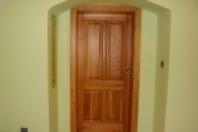Výroba dřevěných dveří