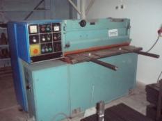 Nůžky tabulové mechanické NTC 1250/2,5