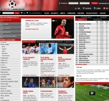 Reklamní plochy portálu www.PremierLeague.cz
