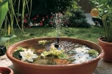 Solární fontána Rimini