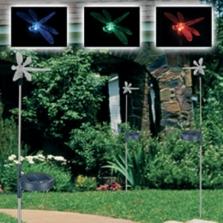 Solární zahradní dekorace