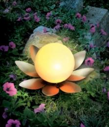 Solární kvítek - žlutá