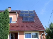 Solární systémy pro ohřev TUV a přitápění domu Exclusive FUN