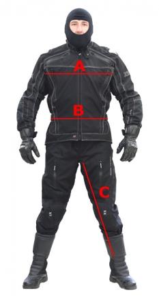 Oblečení a doplňky pro motorkáře