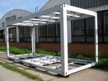 Výroba ocelových rámů