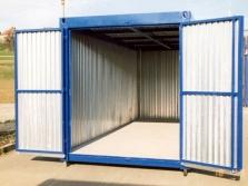 Výroba skladových kontejnerů
