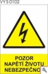 Výstražné tabulky pro elektrotechniku
