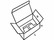 Skládací krabice Fefco