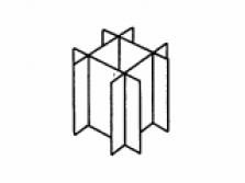 Krabicové mřížky Fefco