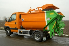 Auta pro svoz biodpadu