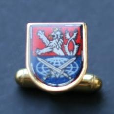 Manžetový knoflík se znakem Hradní stráže