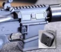 Taktický zvětšený vypouštěč zásobníku (mag release)