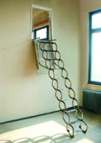 Stahovací schody Verticale
